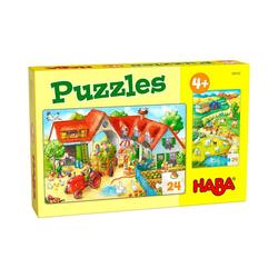 Haba Puzzle Puzzles Bauernhof, Puzzleteile