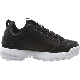 Fila Wmns Disruptor Low black/ white, 38