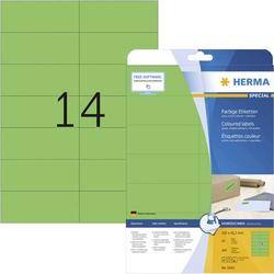 Herma 5061 Etiketten 105 x 42.3mm Papier Grün 280 St. Permanent Universal-Etiketten, Signal-Etikett