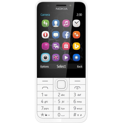 Nokia 230 Handy (7,11 cm/2,8 Zoll, 2 MP Kamera)