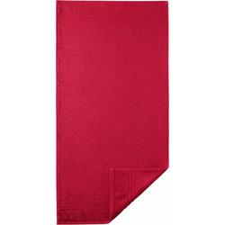 Egeria Handtuch Madison (2-St), mit Bordüre rot