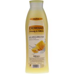 Regina Cremebad, 1000 ml - Flasche, Honig & Milch