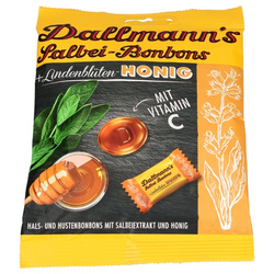 DALLMANN'S Salbei Honig Bonbons 60 g