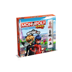 Winning Moves Spiel, Brettspiel Monopoly Junior Miraculous