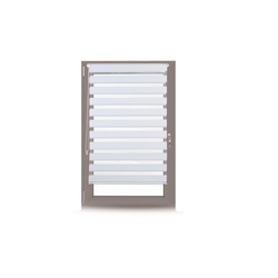 Doppelrollo Doppelrollo Klemmfix ohne bohren in Weiß, relaxdays 85 cm x 156 cm