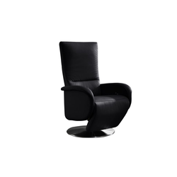 Steinpol Polsteria Drehsessel Jan Style Plus in schwarz