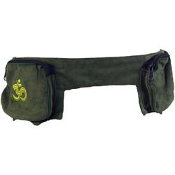 Guru-Shop Gürteltasche Sidebag, Goa Gürteltasche - grün
