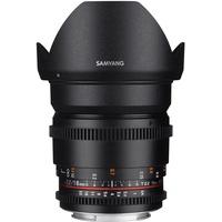 16mm T2,2 ED AS UMC CS II VDSLR Nikon F