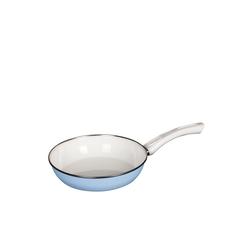 Riess Bratpfanne Ceramik Glas Pfanne BLUE, Emaille (1-tlg) Ø 24 cm x 5.5 cm