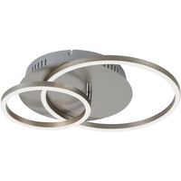 Briloner LED Deckenleuchte Frames matt/nickel