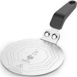 BIALETTI Kochfeld-Adapter, Größe 1 bis 18 Tassen, Ø 20 cm