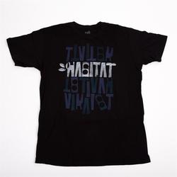 Tshirt HABITAT - Artisan Apex Black Cerna (CERNA)