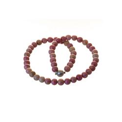 Bella Carina Perlenkette Rhodochrosit, Rhodochrosit 50 cm
