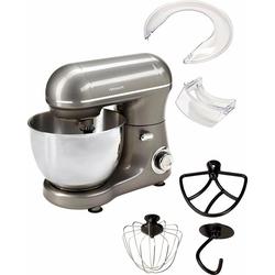 Hanseatic Küchenmaschine 439232 mit praktischem Zubehör, 600 W, 4 l Schüssel