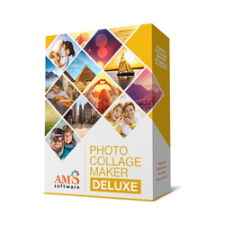 Photo Collage Maker Deluxe, English