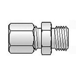 B + B Thermo-Technik M8X1 Ø 3,1mm Klemmverschraubung