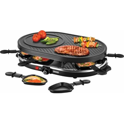 4 Stück Unold Raclette 48795 sw