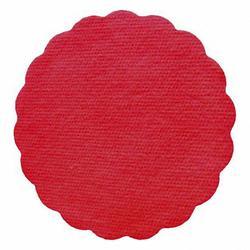 Tassenuntersetzer Glasuntersetzer, Airlaid, Ø 9cm, rot, 500 Stk.