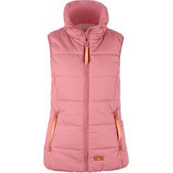 bonprix Langjacke Outdoor-Weste mit Stehkragen (1-St) rosa 44