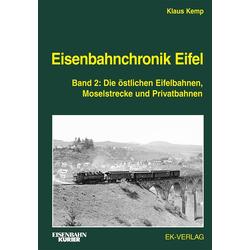 Eisenbahnchronik Eifel - Band 2: Buch von Klaus Kemp