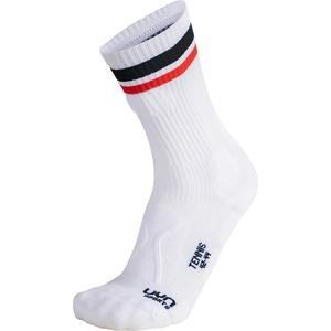 Uyn Unisex Tennis Socks white/black/red (W040) 45/47