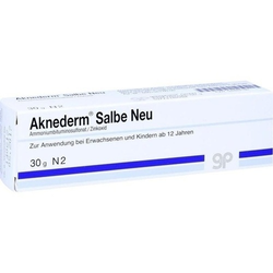 AKNEDERM Salbe Neu 30 g