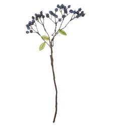 Kunstpflanze ASA Blaubeerenzweig L.46cm, ASA
