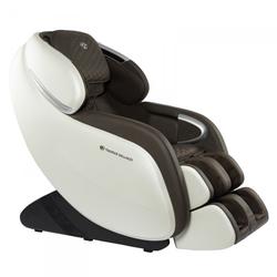 Taurus Wellness Massagesessel XL weiß & braun
