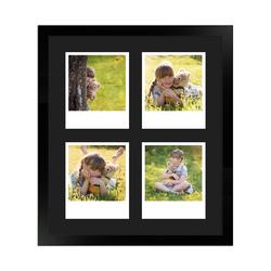 FrameDesign Mende Bilderrahmen Bilderrahmen H950, für 4 Bilder, im Polaroid Format weiß
