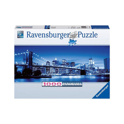 Ravensburger Puzzle Puzzle 1000 Teile, 98x37 cm, Panorama, Leuchtendes, Puzzleteile