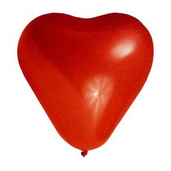 Luftballons 'HERZEN' Ø 350 mm, Größe 'L', 100 Stk.