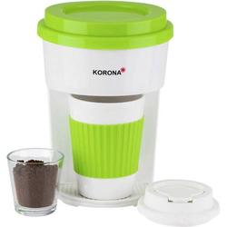 Korona 12203 ToGo Kaffeemaschine Grün, Weiß
