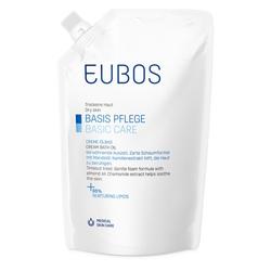 EUBOS BASIS PFLEGE CREME-ÖLBAD Nachfüllbeutel 400 ml