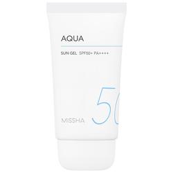 Missha 50 ml Block Aqua Sun Gel SPF50+ Sonnenbalsam 50ml