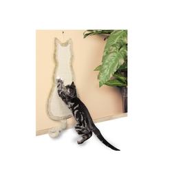 TRIXIE Kratzbrett Katze 35 x 69 cm beige