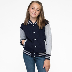 Kids` Varsity Jacket | Just Hoods