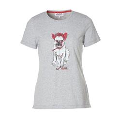 LOOKS by Wolfgang Joop T-Shirt mit Bulldoggen-Motiv L