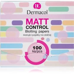 Dermacol Matt Control Mattierende Papierblättchen 100 St.