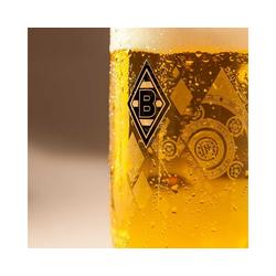 Borussia Mönchengladbach Glas Bierseidel 0,5l