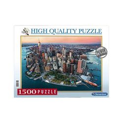 Clementoni® Puzzle Clementoni 97694 - High Quality Puzzle - New York, 1500 Teile, 1500 Puzzleteile