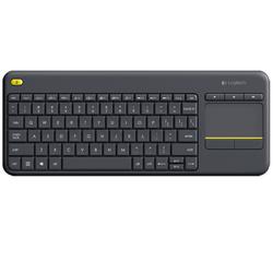 Wireless Touch Keyboard K400 Plus Black (Arabic)