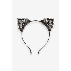 Next Haarreif Haarband mit Katzenohren aus Spitze