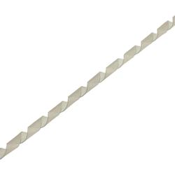InLine® Spiralband 10m, weiß, 6mm