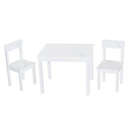 roba® Kindersitzgruppe Weiß, (3-tlg)
