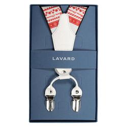 Lavard Weiße Weihnachtshosenträger 57291