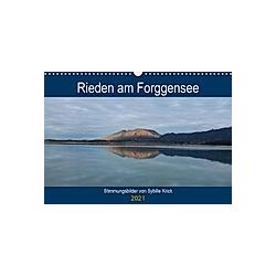 Rieden am Forggensee (Wandkalender 2021 DIN A3 quer)