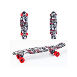Moni Skateboard Kinder Skateboard Skull 27