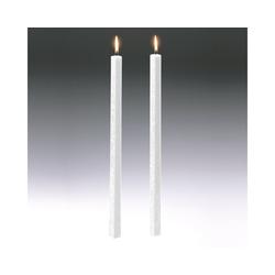 Amabiente Kerzenhalter Kerze CLASSIC weiß 40cm - 2er Set