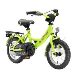 bikestar Premium Sicherheits Kinderfahrrad 12 Classic Grün
