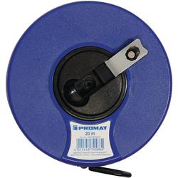 Kapselbandmaß Länge 50 m Bandbreite 13 mm mm/cm EG III ABS Nylon-Fiber PROMAT